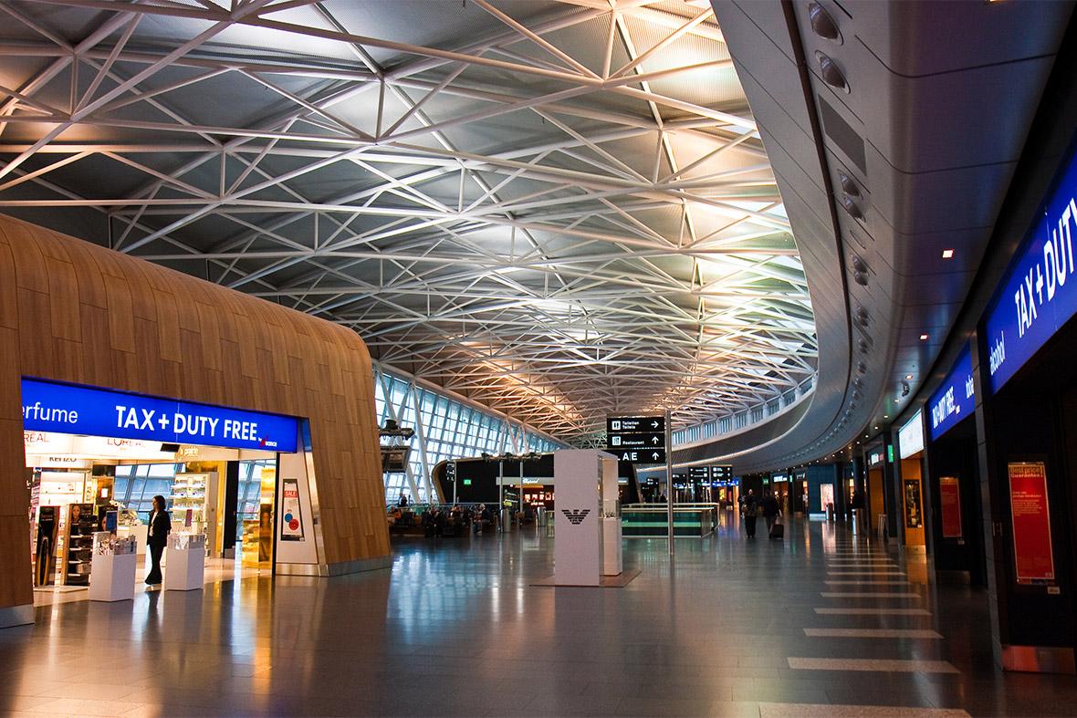 Hình ảnh sân bay Zurich, Thụy Sĩ (Nguồn Google images)