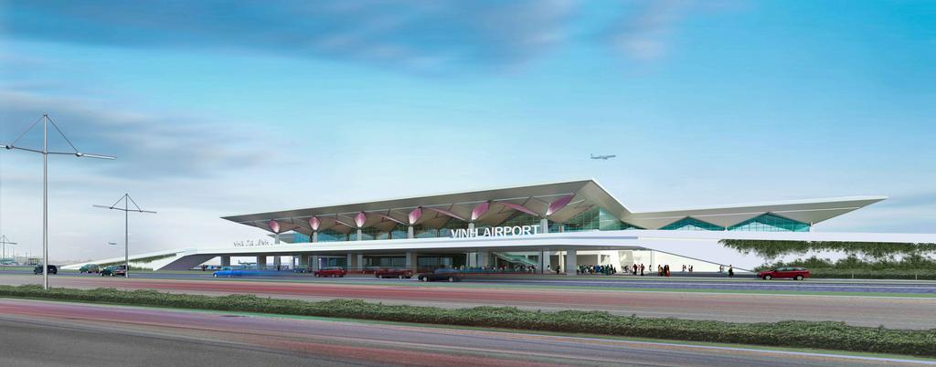Image result for tổng quan sân bay vinh