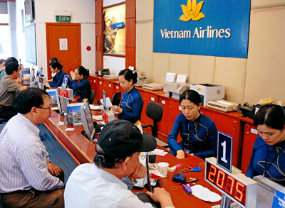Đại lý vé máy bay tại An Giang