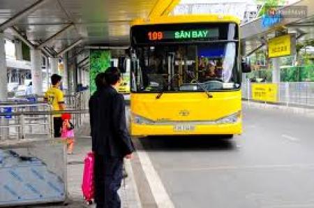 Xe bus Tân Sơn Nhất Xe buýt sân bay Tân Sơn Nhất