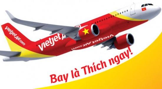 Đại lý Vietjet Air ở TP.HCM Dịch vụ thanh toán vé máy bay Vietjet Air ở TP.HCM