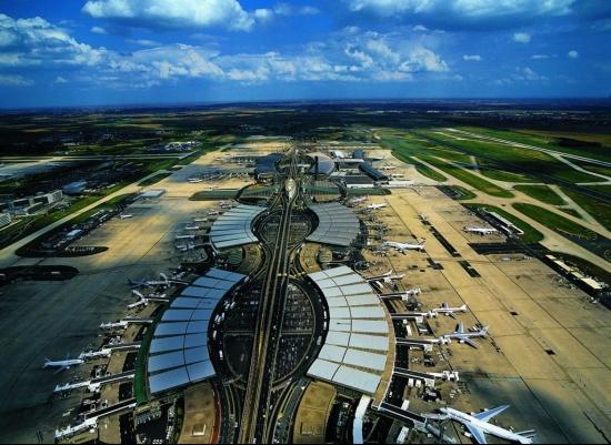 vé máy bay đi Île-de-France Vé máy bay đi Sân bay quốc tế Charles de Gaulle tại thủ đô Paris của Pháp