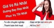 Vé máy bay giá rẻ ở Huyện Thái Thụy tỉnh Thái Bình Đại lý vé máy bay tại huyện Thái Thụy