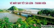 Vé máy bay Tết Sài Gòn Thanh Hóa
