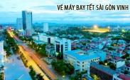 Vé máy bay Tết Sài Gòn Vinh