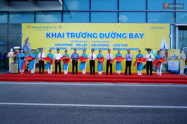 Vietnam Airlines khai trương 7 đường bay mới kết nối Vinh, Hải Phòng với các tỉnh, thành - Ảnh 2.